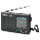 TECSUN R-909 Portable FM / MW / SW Multiband AM / FM Radio Receiver - Black (2 x AA)