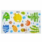 Fish Spit Bubbles Style Bathroom / Bedroom Wall Paper (25 x 43cm)