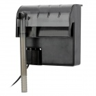 Aquarium Water Tank Mute External Hanging Filter - Black + Grey