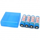 TrustFire Rechargeable 2500mAh NiMH AA Batteries - Blue + White (4 PCS)
