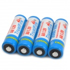 TrustFire recargable 2500mAh NiMH AA Batteries - Blue + White (4 PCS)