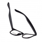 Retro Anti-Radiation UV Protection Computer Glasses - Black (Size L)