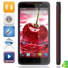 "4.2.1 WCDMA Bar Tianhe H920 MTK6589 Quad-Core Android Phone w / 5.0 ""HD, Wi-Fi et GPS - noir + rouge"