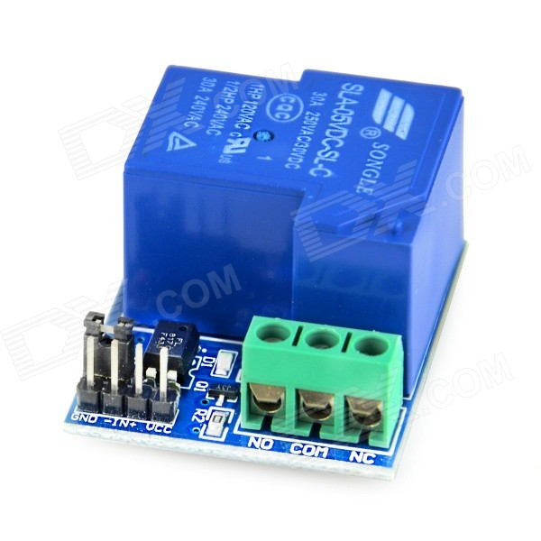 5V 30A C-type Opto-isolated Relay Module - Blue 5v 30a c type opto isolated relay module blue