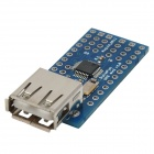 DIY USB Host Mini Module Board - Blue