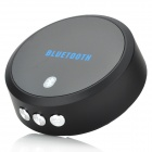 Rechargeable Bluetooth V4.0 Music Receiver w/ Handsfree / Microphone - Black + Grey