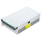 AC 100 ~ 240V para DC 12V 20A 240W Poder Converter for LED Light - Silver + Verde