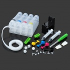 4 Farbe 55ml Continuous Ink Supply System für HP1000 / 2050/1050 & Canon IP2780 / MP288 - Weiß