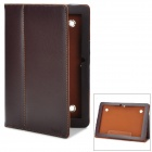"Protective PU Leather Case for AINOL NOVO 10"" Hero Tablet PC - Brown"