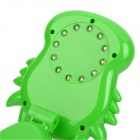 Lucky Dragon Style USB recarregável 450lm 1.2W 12-LED Eye-Protection Mesa de Luz Touch - Verde