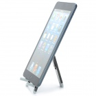 "5"" Stainless Steel Folding Stand Holder Support for Tablet PC - Black + Grey"