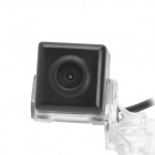 Car CMOS NTSC / PAL Wide Angle Rearview Camera for KIA Sportage R - Black + Transparent