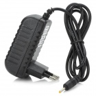 5V 2-Round-pin Plug Tablets Power Adapter for Cube / ONDA / Window / Newsmy + More - Black