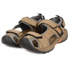 TELENT Men's Fashionable Outdoor Quick Dry Sandals Shoes - Khaki (Size 42)