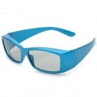 A95 Full Frame Polarized TAC Lens 3D Glasses - Blue