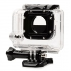 Outdoor Water Sport Waterproof Camera Case for Gopro Hero 3 / 3+ - Black + Transparent