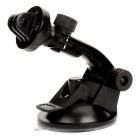Plastic Camera Stand Holder w/ Suction Cup for GoPro HD Hero 2 / 3 / 3+ / SJ4000 - Black