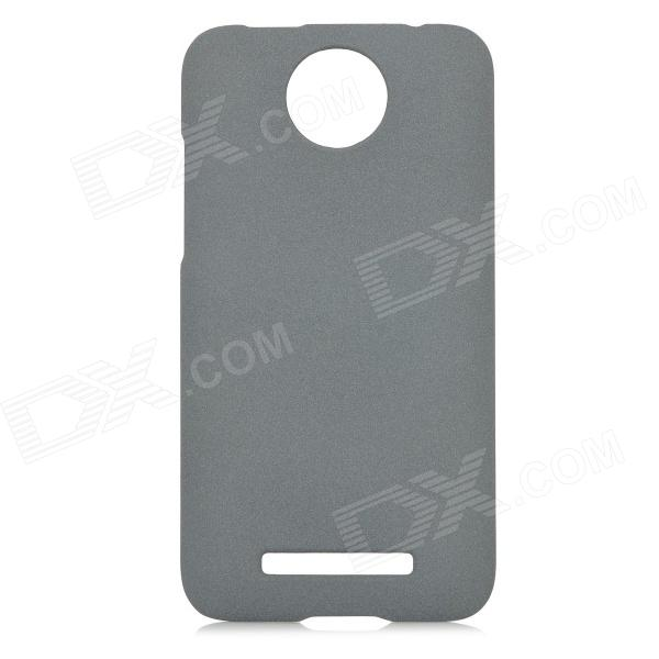 Protective Frosted PC Back Case for HTC E1 603e - Grey