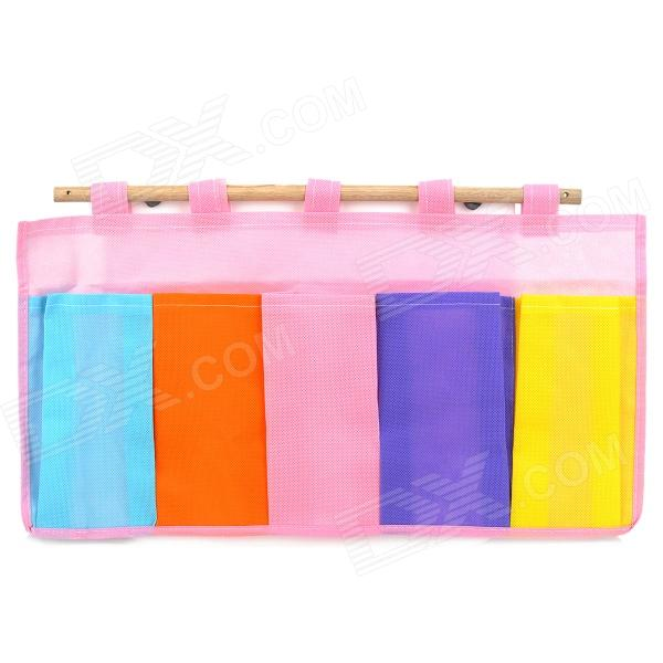 S7023 Non-Woven Fabrics 5-Compartment Hanging Storage Bag Cleveland объявления куплю