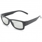 HC003 Full Frame Polarized 3D Glasses - Black