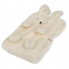 Rabbit Keep Warming Air Conditioner Blanket - Beige