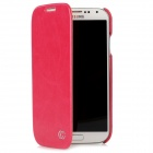 KUCHI Protective PU Leather Flip-Open Case for Samsung Galaxy S4 / i9500 - Red