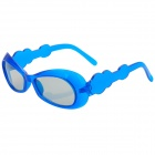 A80 3D Polarized Shutter Glasses for Children - Blue