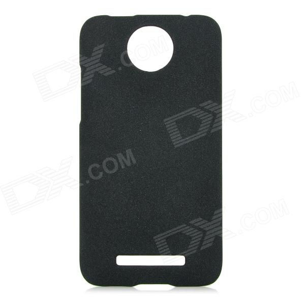 Protective Frosted PC Back Case for HTC E1 603e - Black