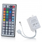 12V 44 Keys IR Remote Controller for RGB LED Strip Lights - White