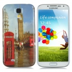 Big Ben Style Protective Hard Plastic Back Case for Samsung Galaxy S4 i9500 - Multicolor