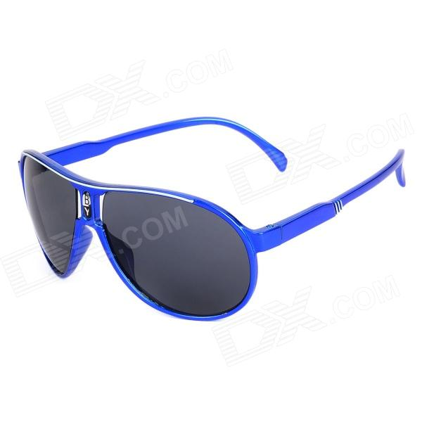 FG-01 UV400 Protection Resin Lens Sunglasses for Children - Deep Blue