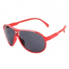 Fashion FG-02 UV400 Protection Resin Lens Sunglasses for Children - Red