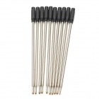 High Grade Universal Sweet Smell Refill Cartridge for Pen - Silver + Black (10 PCS)