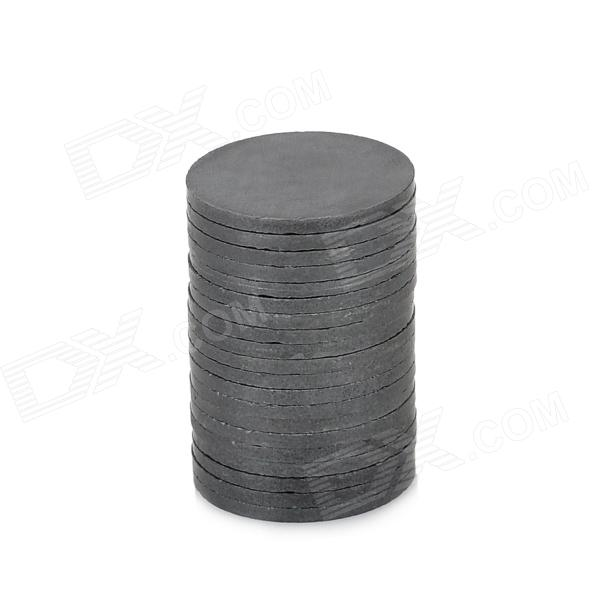 20 x 1.5mm Ferrite Magnet Ring - Black (20 PCS) 64mm x 31mm x 26mm yellow white iron core power inductor ferrite ring