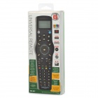 6-in-1 Multifunctional Universal Remote Control for TV + SAT + DVD + AUX + VCR - Black (3 x AAA)