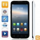 "Beidou LA-M1Y MSM8225Q Quad-Core Aliyun 2.0 WCDMA Bar Phone w/ 4.5"" ,Wi-Fi and GPS - White + Black"