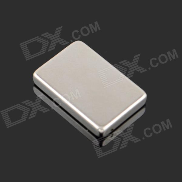 DIY Square NdFeB Magnet - Silver (30 x 20 x 5mm) 5 x 1 9mm cylindrical ndfeb magnet silver 20pcs