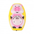 AR110A Cartoon Pig Watch Style Ultrasonic Mosquito Insect Repeller - Beige + Pink (1 x CR2032)