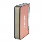 landie 002 Creative Automatic Cigarette Case w/ Butane Gas Lighter - Pink
