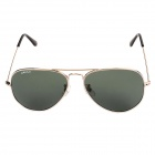 Oreka 3025 UV400 Protection Polarized Resin Lens Sunglasses - Deep Green