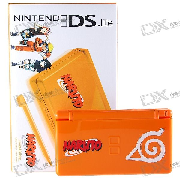 Nintendo DS Lite Portable Entertainment Console Limited Edition - Naruto (Refurbished)