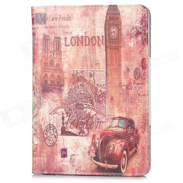 London Big Ben Style Protective PU Leather Case for Ipad MINI - Brown gp 01 retro envelope style protective pu leather inner bag pouch case for ipad mini brown