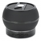 LXBT-02S Portable 5.1-Channel Mini Bluetooth v2.1 Bass Speaker w/ Microphone - Black