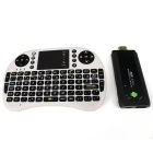 MK809 II Android 4.1.1 Mini PC TV Player w/ Bluetooth / i8 Wireless Keyboard Set - Black