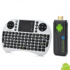 UG007 Dual-Core Android 4.1.1 Mini PC Google TV Player w/ Air Mouse / 1GB RAM / 8GB ROM / Bluetooth