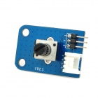 10K Analog Knob Rotary Potentiometer Module - Blue + Black (Works with official Arduino Boards)