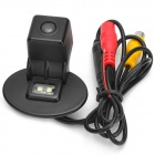 Vehicle Car Rear View Camera w/ 2-LED for Yueda KIA Forte / Verna - Black (12V / NTSC / PAL)