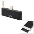 Compact Apple 8pin Lightning to 30pin Adapter w/ 3.5mm Audio Head for iPhone 5 / iPod Touch 5