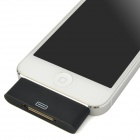 Compact   8pin Lightning to 30pin Adapter w/ 3.5mm Audio Head for Iphone 5 / Ipod Touch 5