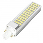 G24 10W 208lm 6500K 52-SMD 5050 Cold White lamppu